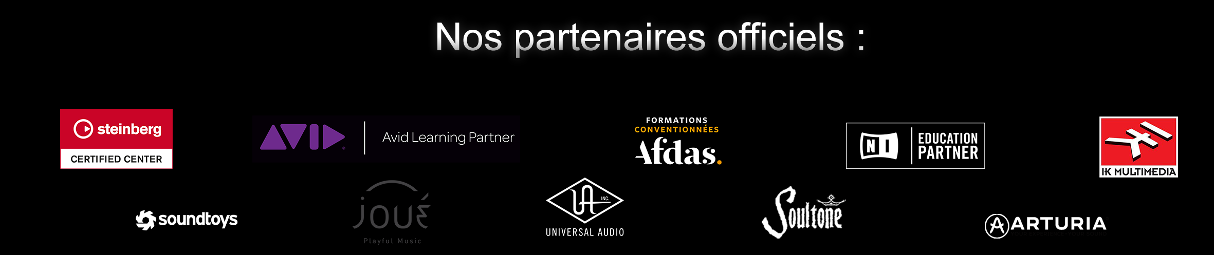 centre de formation audio certifié